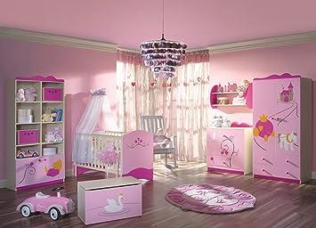 Kinderzimmer prinzessin  Schlafzimmer-Set Kindermöbel