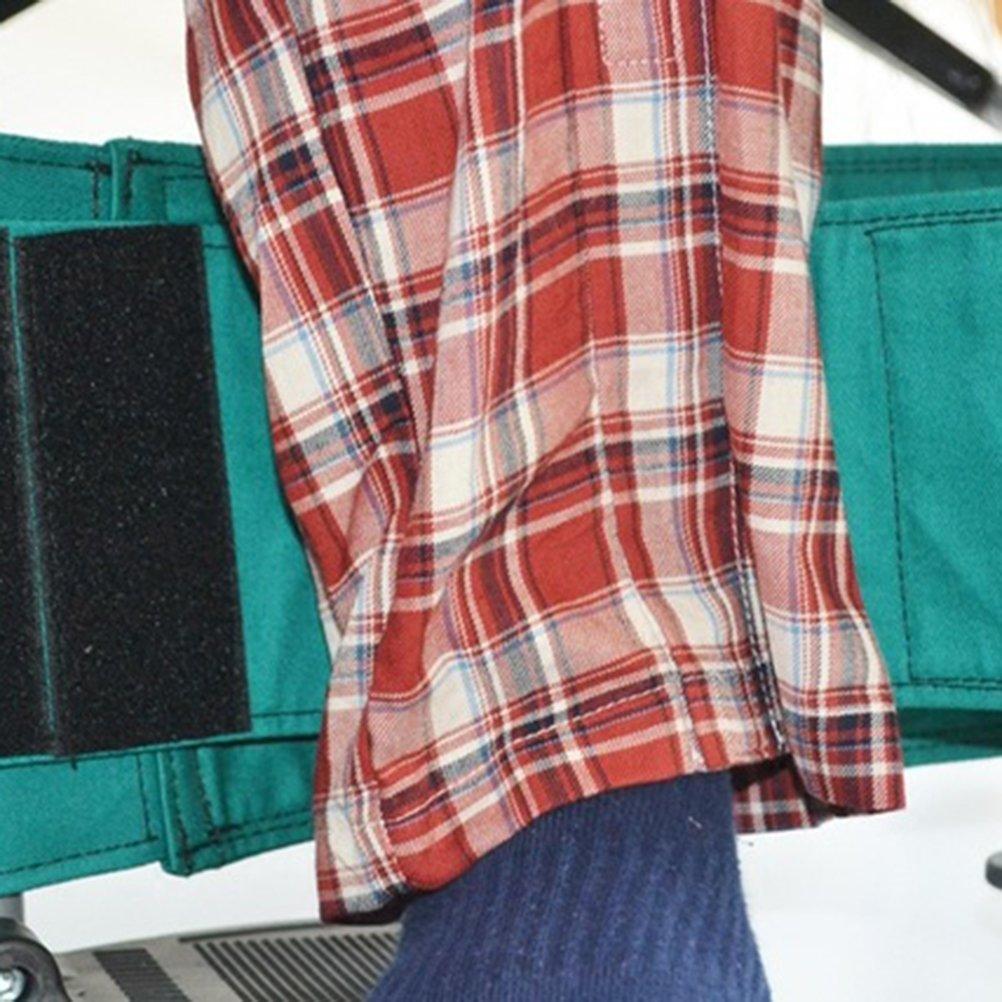 Cinturón de asiento para silla de ruedas, ajustable, para personas con discapacidad (verde): Amazon.es: Salud y cuidado personal