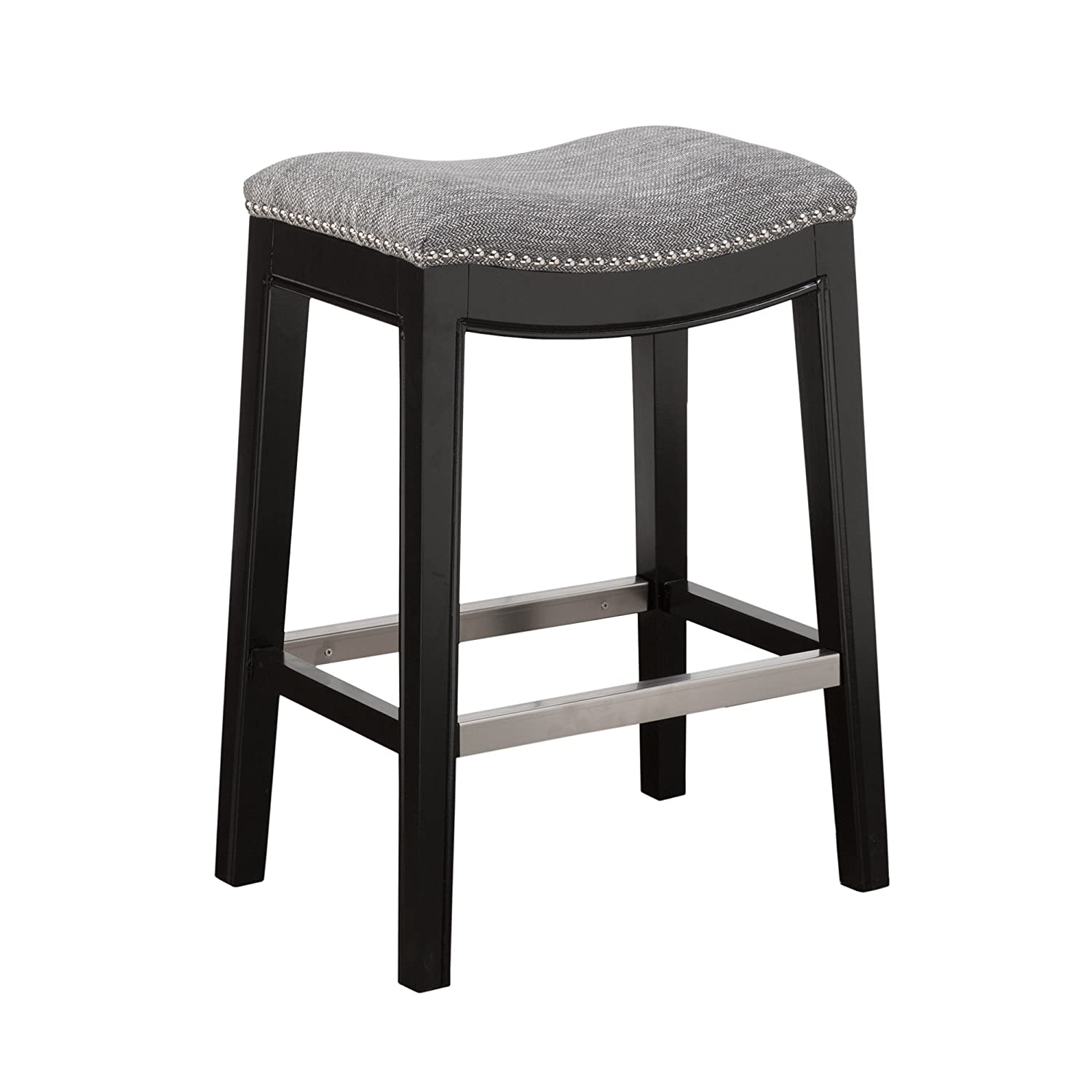Amazon Madison Park Belfast Saddle Counter Stool Kitchen