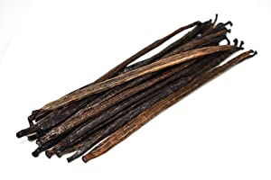 Slofoodgroup Bourbon Vanilla Beans from Indonesia | Gourmet Vanilla Planifolia | Vanilla Beans from the Spice Islands (.5 Lb/8 oz Vanilla Beans)