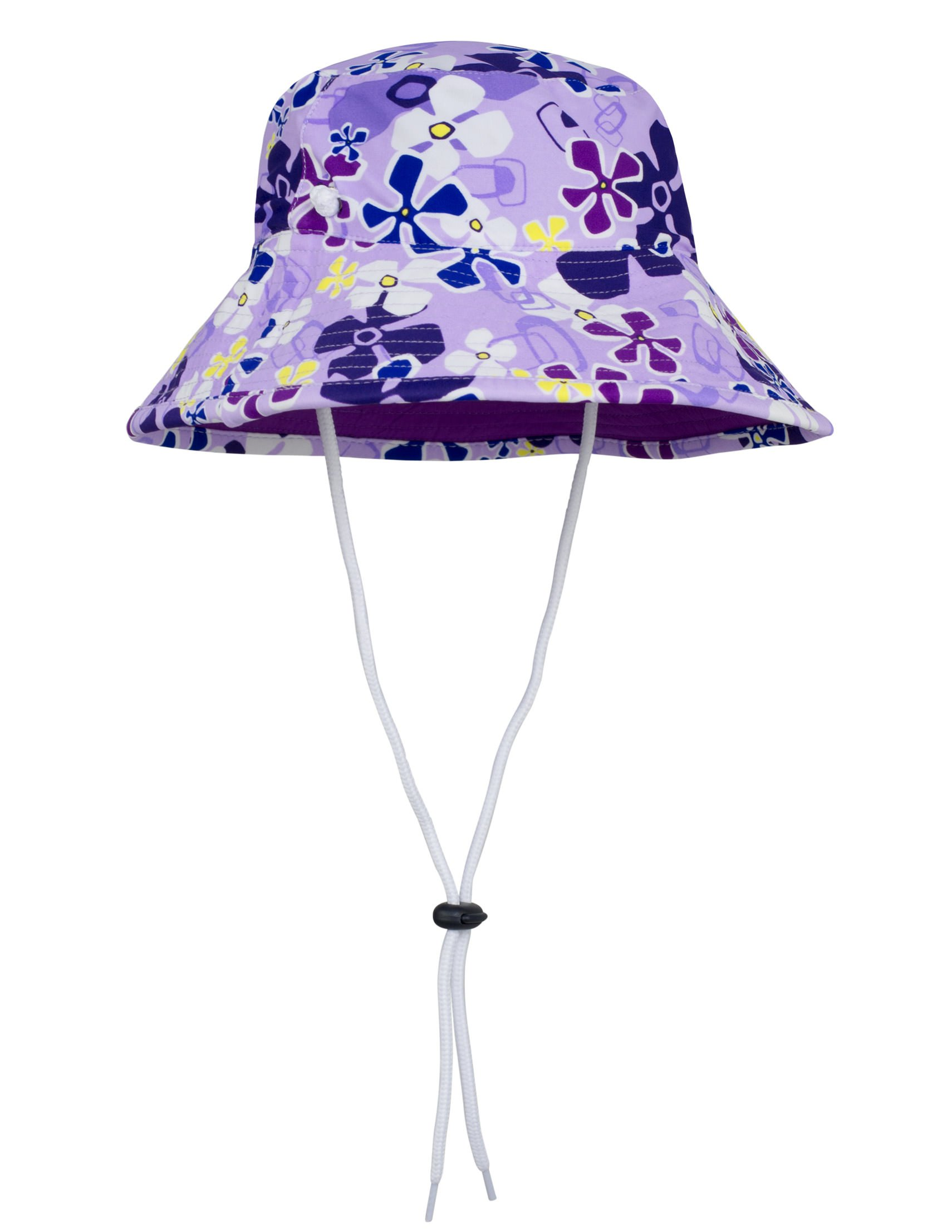 Tuga Girls Bucket Hat (UPF 50+), Playtime, Large