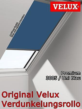 2055 Uni Blau VELUX DKL Rollo für VL//VU//VKU