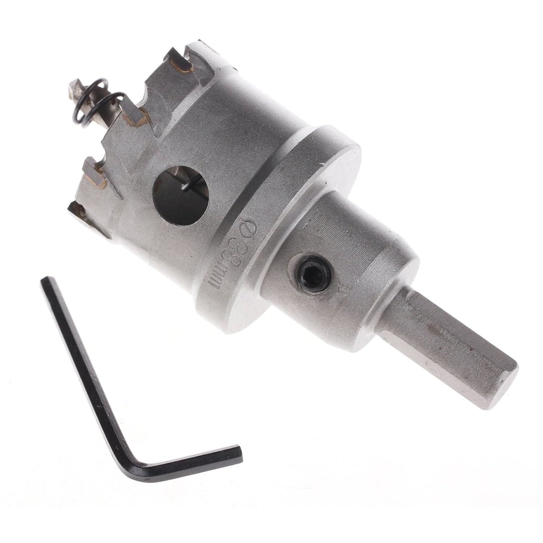 Nouveau 59 mm Carbide Tip Metal Cutter Trou Scie