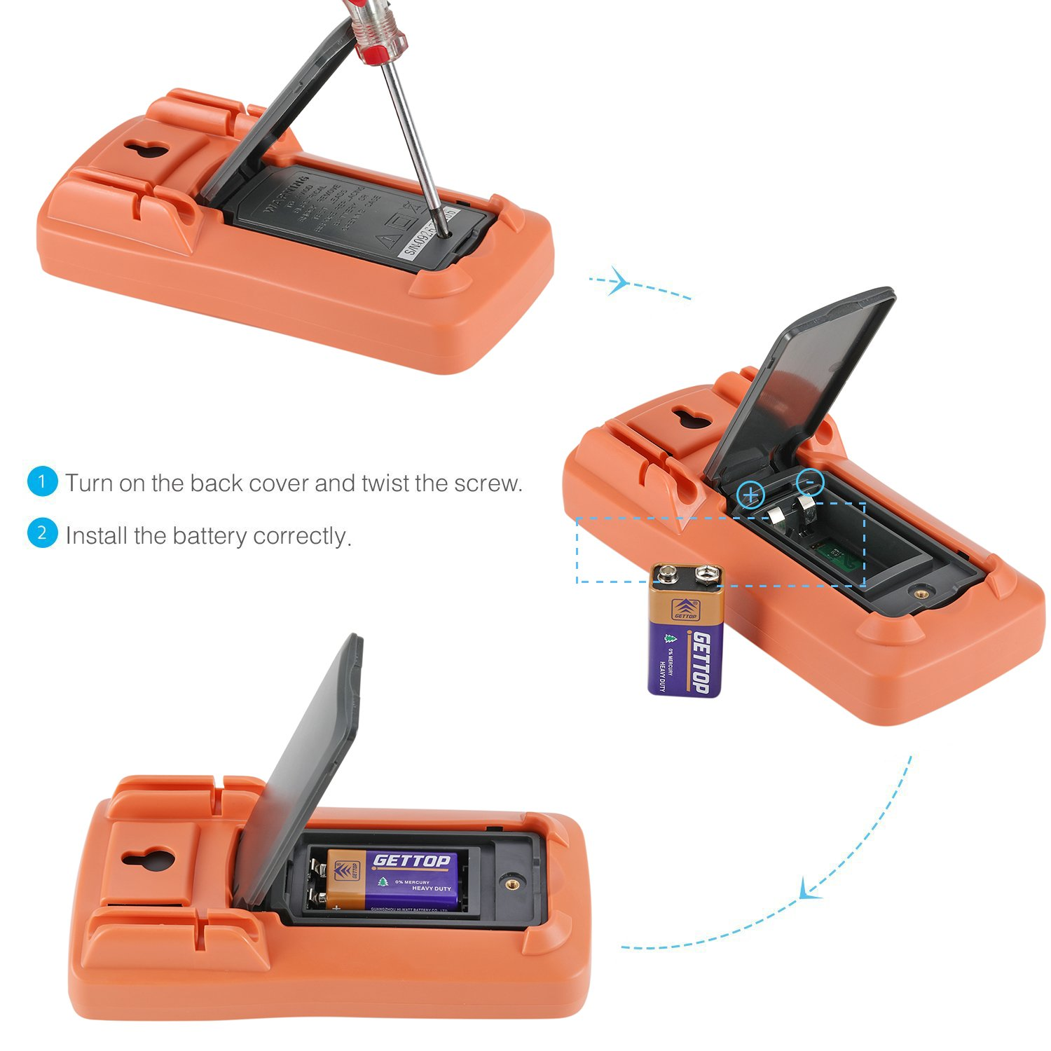 Digital multimeter electronic measuring instrument ac voltage digital multimeter electronic measuring instrument ac voltage detector portable amp ohm volt test meter multi tester diode and continuity test biocorpaavc Image collections