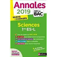 Annales ABC du BAC 2019 - Sciences 1re ES-L