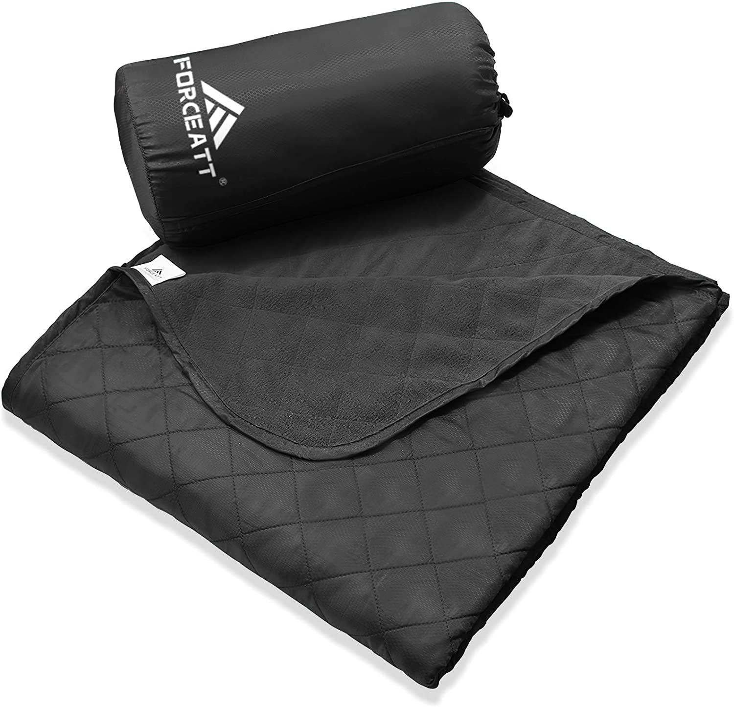 Forceatt Camping Blanket, Picnic Blanket for Outdoors Wearing, Warm, Light, Thick, Machine Washable, 140cm 200cm, Suitable for Camping, Outdoor, Picnic, Festival, Travel : Clothing
