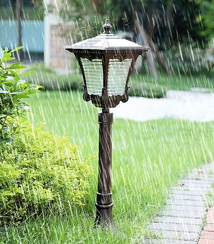 Modeen Solar Garden Lawn Light LED Sensor de Movimiento Luces de Seguridad Resistente a la Intemperie