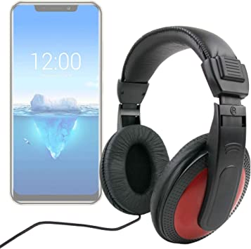 DURAGADGET Auriculares De Diadema para Smartphone OUKITEL C12 Pro ...