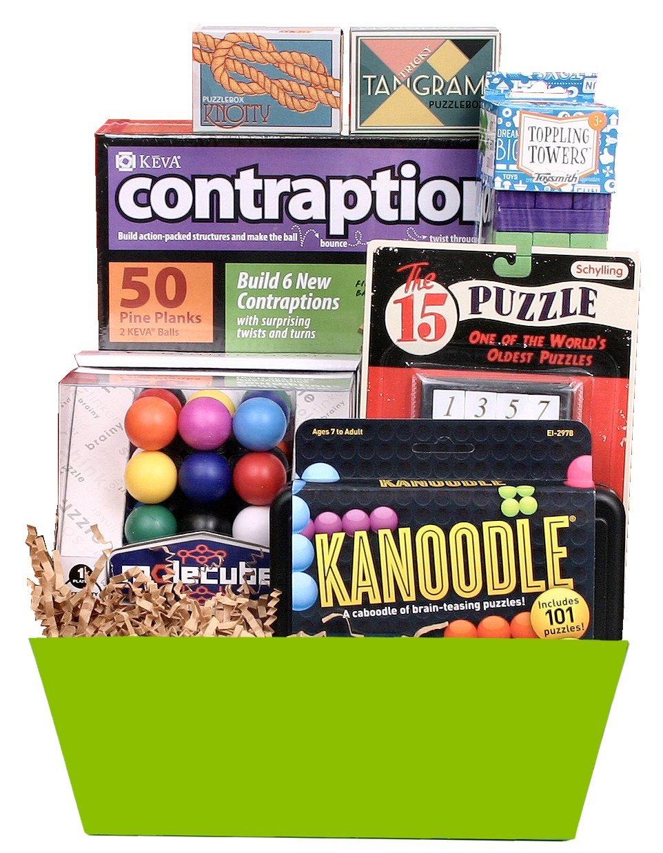 Beyond Bookmarks Brain Buster Easter Gift Basket