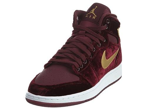 Nike 832596-640, Zapatillas de Baloncesto para Niñas, Rojo (Night Maroon/Metallic Gold-White), 35.5 EU: Amazon.es: Zapatos y complementos