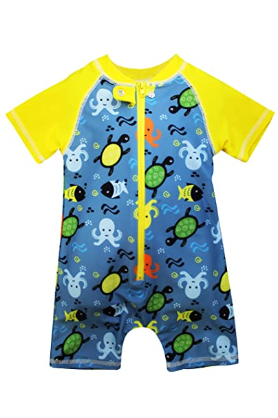 0bf9ce19 Sol Swim School Recess Rash Guard Bodysuit for Boys | Boys' Swimwear |  Wetsuit for