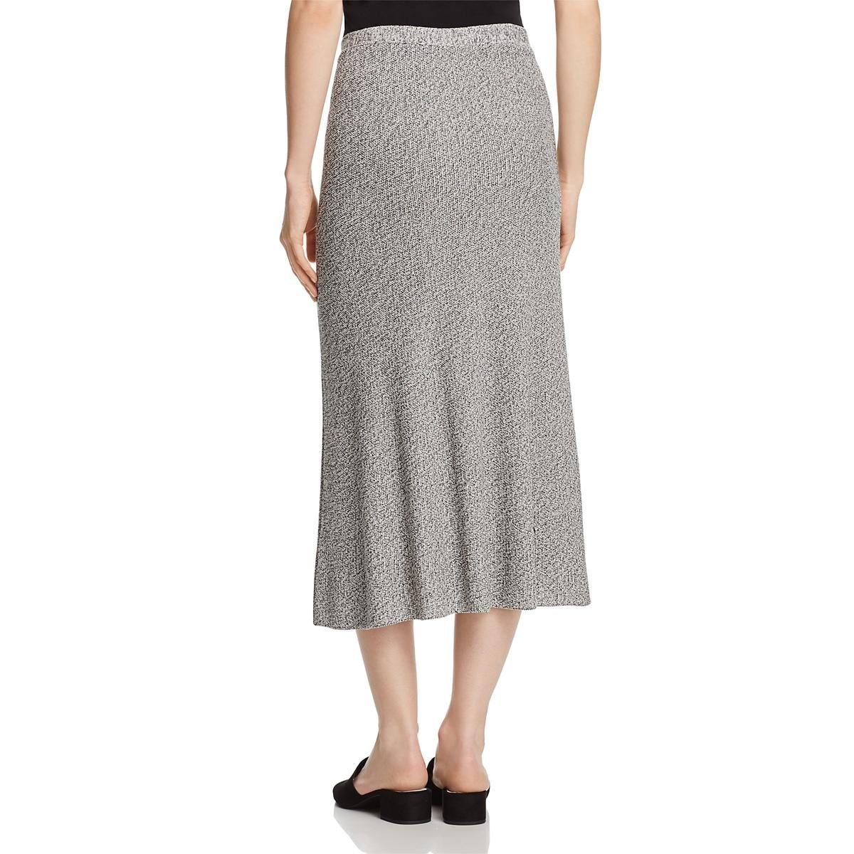 Eileen Fisher Womens Tencel Flare Flare Skirt B/W XL by Eileen Fisher (Image #2)