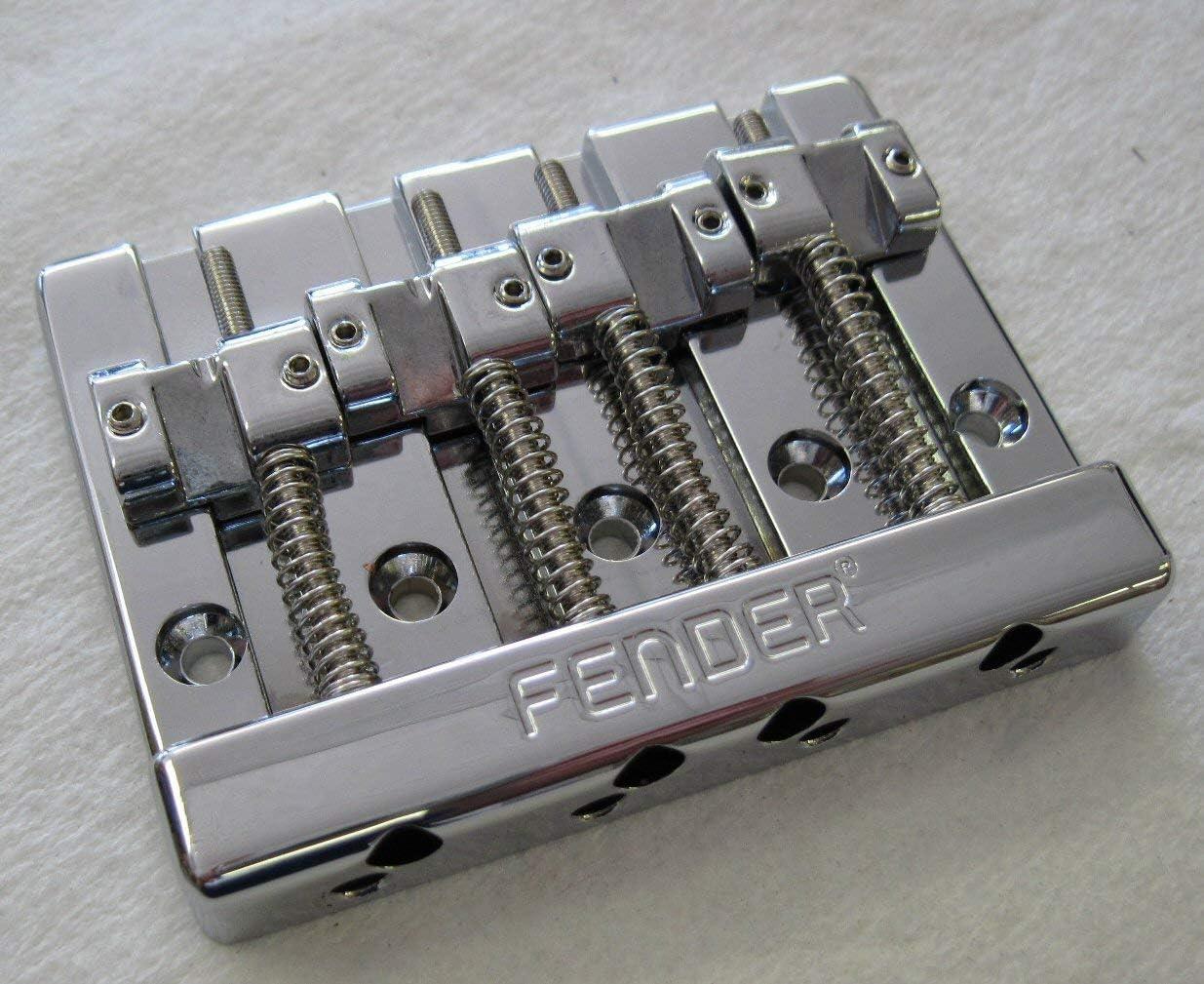 Fender® HIMASS™ 4-String Chrome Bass Bridge~W//Hardware~Badass Style~Brand New