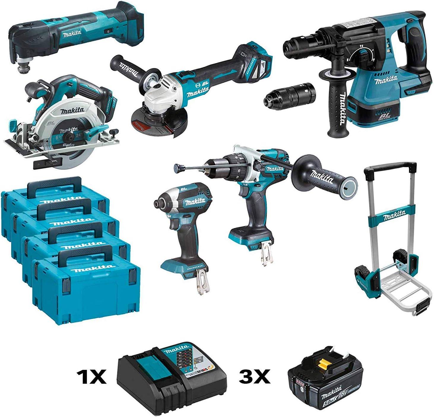 Makita DLX6085TJ Kit Combo: Amazon.es: Bricolaje y herramientas