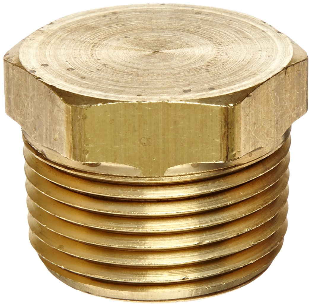 Eaton Weatherhead 3152X12 Brass CA360 Fitting, Hex Head Plug, 3/4 NPT Male by Weatherhead B00BKFFB9Y
