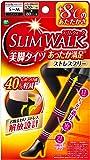 ピップ スリムウォーク (SLIM WALK) 美脚タイツ あったか満足 ストレスフリー S~Mサイズ ブラック おそと用 着圧
