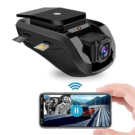Dash cam , Toptellite Video Remoto 3G Wifi Dual Dash Cámara de Coche Conducir Grabadora 1080P con GPS Incorporado, Grabación en Bucle, Sensor G, ...