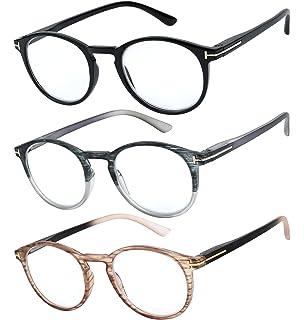 ee912d09102e Reading Glasses Set of 3 Great Value Quality Fashion Readers Spring Hinge  Glasses for Reading Men