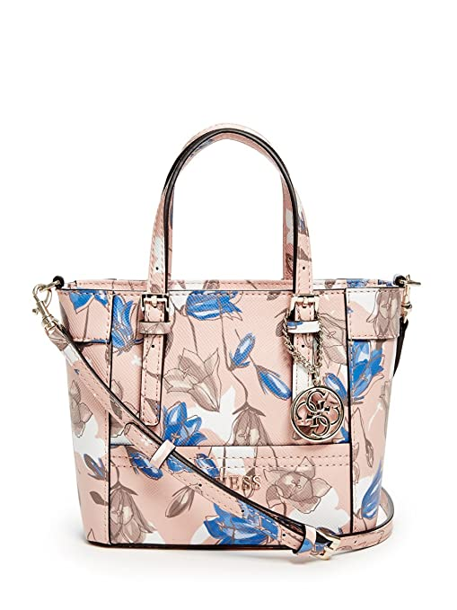GUESS Delaney Floral Mini Tote  Amazon.ca  Sports   Outdoors 2222d0cc25a29