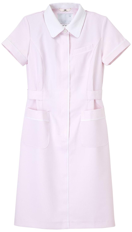 (ナガイレーベン) NAGAILEBEN 花井幸子 女子 ワンピース 半袖 白衣 YHT-1367 B00RWLP7KS LL|ピンク ピンク LL
