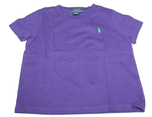Polo Ralph Lauren - Camiseta - para bebé niña Morado Morado (18 ...