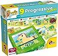 Lisciani Giochi 58440 - Carotina Baby Progressive Puzzle The Farm