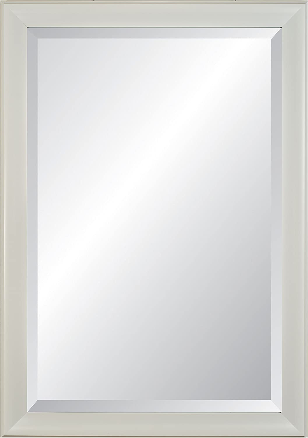 Alpine Art & Mirror Lakeside Wall Mirror White, 40.25 x 28.25&quot