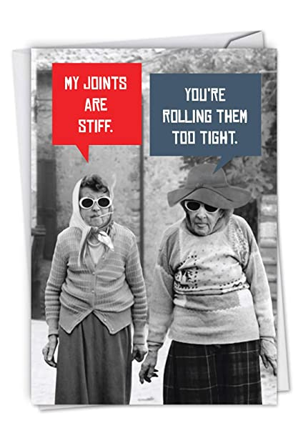 Amazon Stiff Joints Old Age Friendship Hysterical Birthday