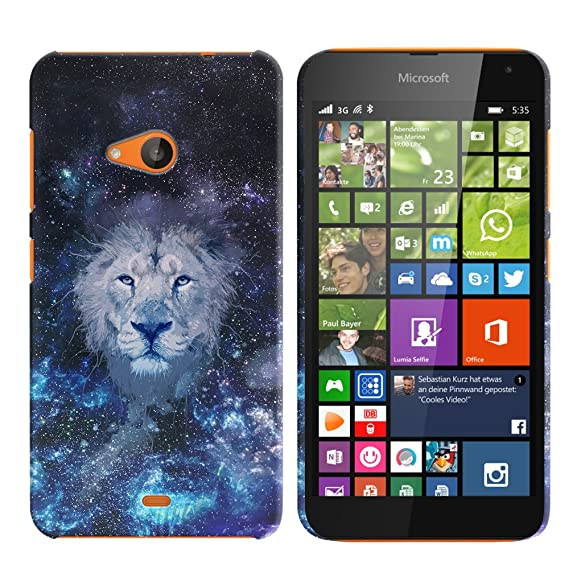 new style 352c4 4ccb5 Amazon.com: FINCIBO Case Compatible with Microsoft Nokia Lumia 535 ...