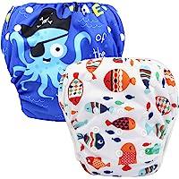 storeofbaby Infant Boys Girls Swim Pants Reusable Adjustable Swimming Diaper Covers