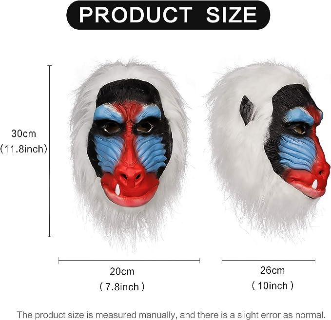 Máscara de Rafiki Hecha a Mano con Dibujos Animados de The Lion ...