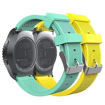 MoKo - Correa de reloj para Gear S2 Classic, [2 unidades] de ...