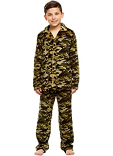 eca24ba69e Amazon.com  Realtree Soft Premium Boys 100% Cotton Camo Kids Pajama ...