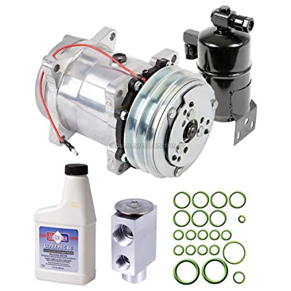 Amazon.com: AC Compressor w/A/C Repair Kit For Volkswagen Transporter & EuroVan - BuyAutoParts 60-81765RK NEW: Automotive