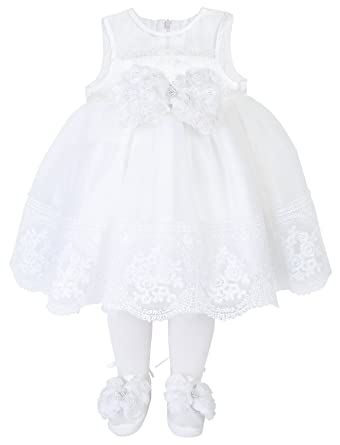 amazon com taffy baby girl christening baptism embroidered dress