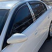 AVS IN-CHANNEL Rain Guard Visor Window Deflector fit Nissan Altima 2002-2006