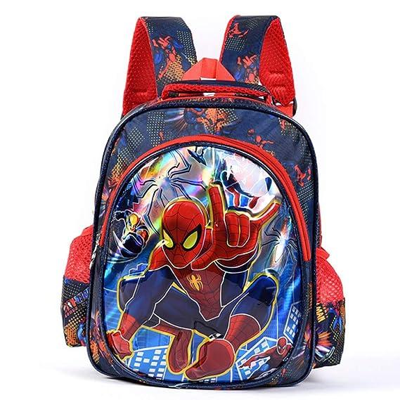 Spider-Man Mochila Escolar Para Niños Adolescentes Mochilas Para Niños Y Niñas Bolsas Escolares De 6-12 Años,Spiderman-33 * 27 * 12cm: Amazon.es: Ropa y ...
