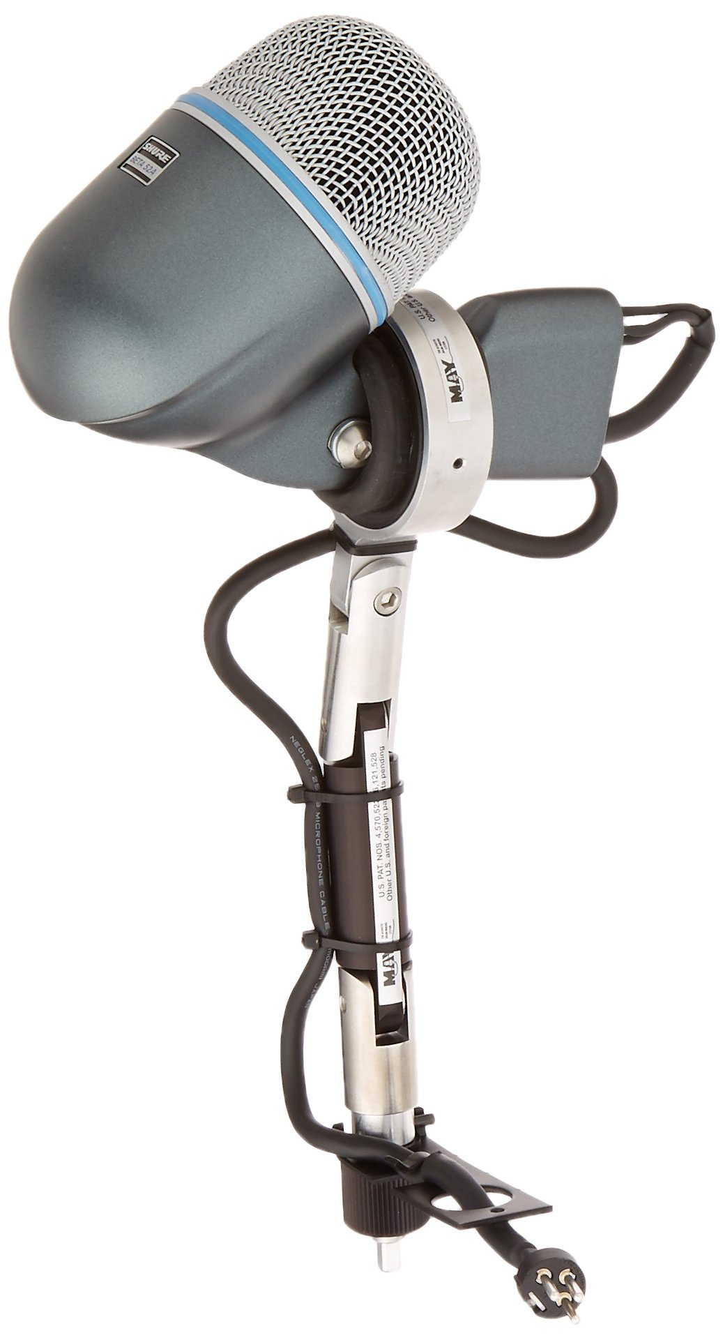 DW Drum Workshop Shure Beta 52 MAY Internal Microphone System for Bass Drums