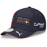 Fuel For Fans Ungdomsformel 1 Aston Martin Red Bull Racing 2020 Team Cap, Max Stappning, Navy, One Size
