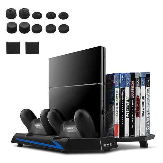 148 opinioni per [Versione aggiornata] Younik PS4 supporto verticale con ventole ricarica per