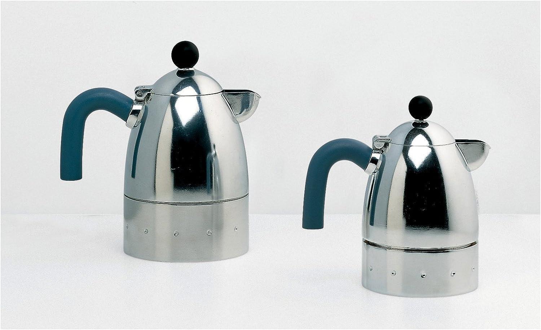 Alessi – Michael Graves MG26/3 Pelicano Espresso cafetera, 3 Taza ...