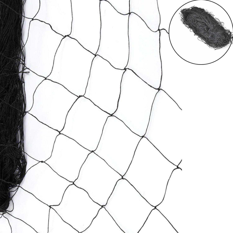 Heavy Duty 25' X 50' Anti Bird Netting for Bird Poultry Aviary Game Pens 2.4''x2.4'' Mesh