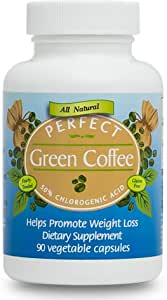 Amazon Com Perfect Green Coffee 90 Count 400mg Health Personal Care