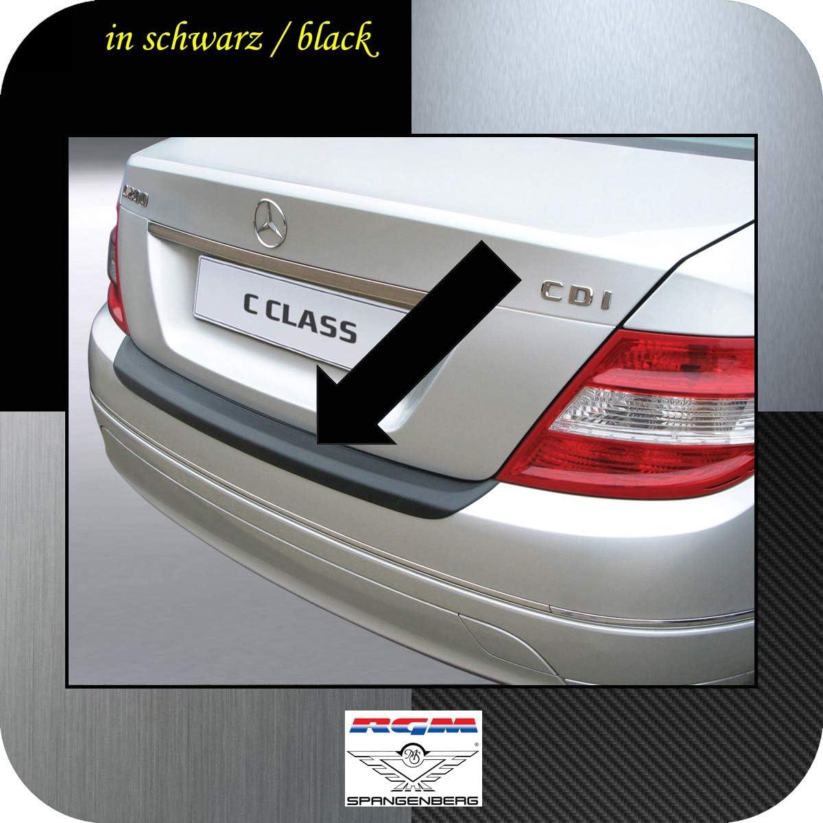 W 204 RGM Protection de seuil de Chargement pour Mercedes Benz Classe C W204 Berline ann/ées de Construction 01.2007-02.2011 RBP287 Noir Richard Grant Mouldings Ltd Berline