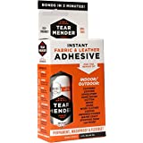 Tear Mender Instant Fabric and Leather Adhesive, 2 oz. Bottle, 12 Pack, TM-1-C12