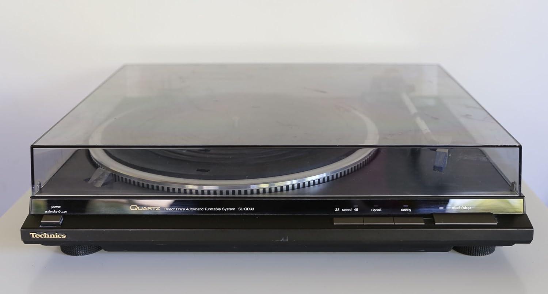 Technics SL-QD 33 Tocadiscos automático Direct Drive: Amazon ...