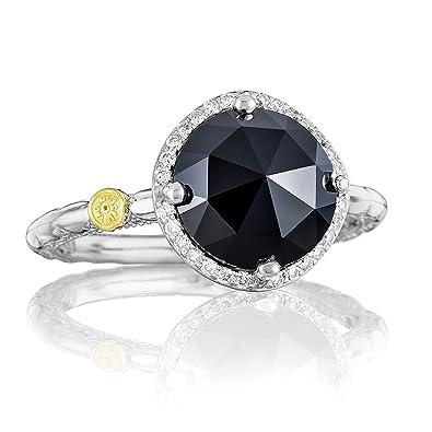 97e735815577b Amazon.com: Tacori SR14519 Classic Rock Sterling Silver Diamond ...