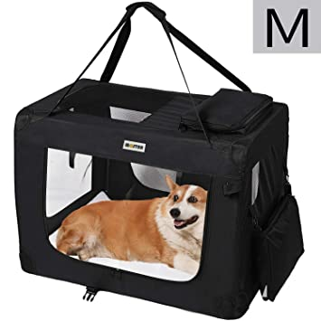 MC Star Transportin para Perros Gatos Mascotas Plegable Portátil ...