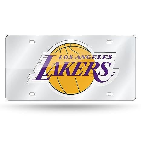 NBA Silver Laser Cut Auto Tag