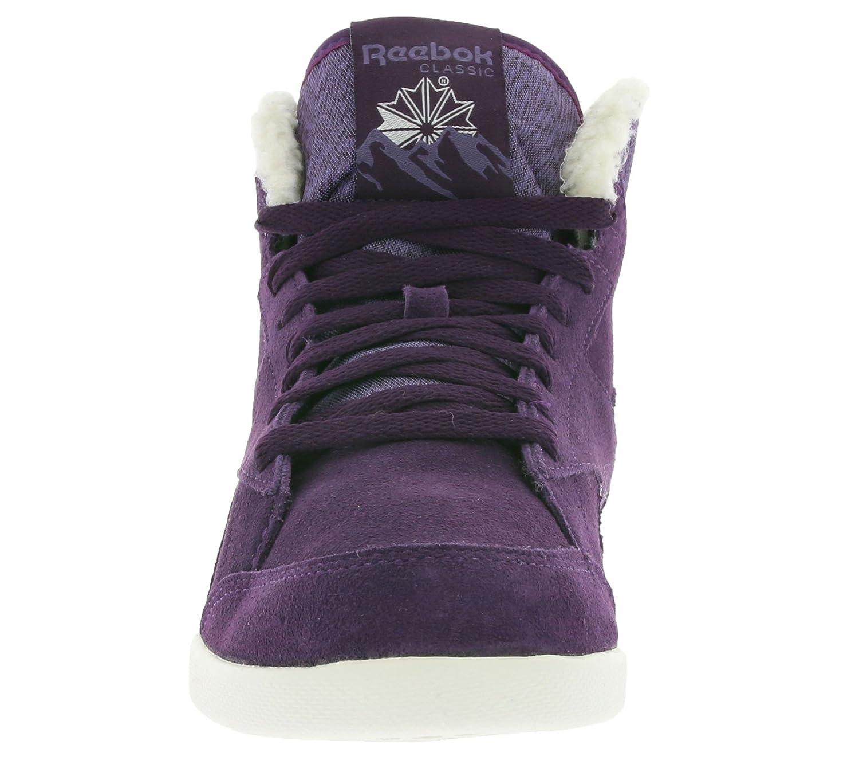 12bd7080de2 Reebok Classic Fabulista Mid II Alpine Ladies High Top Sneaker Violet  M49217